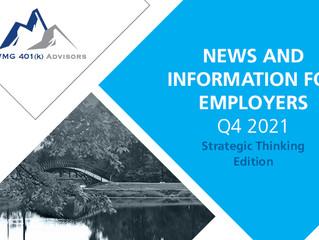 Q4 2021 Newsletter – Strategic Thinking Edition