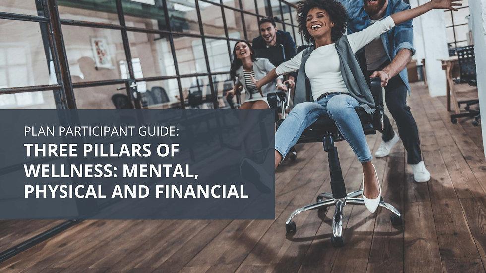 Three Pillars of Wellness