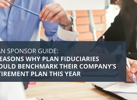 Plan Sponsor Guide: 4 Reasons to Benchmark Your Retirement Plan