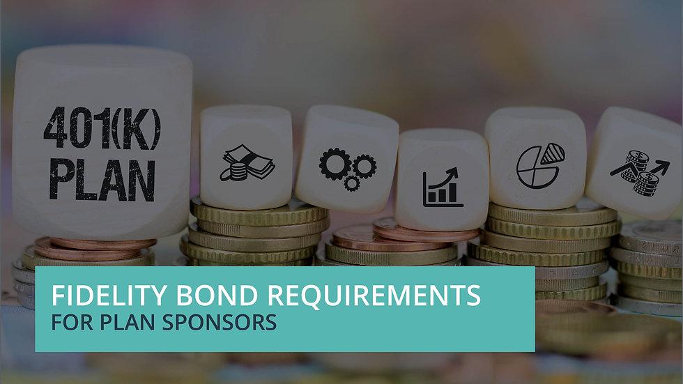 Fidelity Bond Requirements