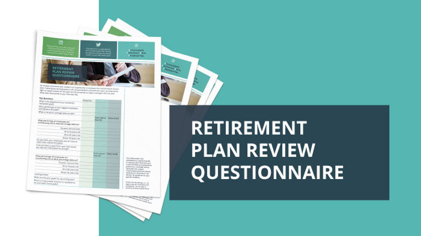Annual Retirement Plan Questionnaire