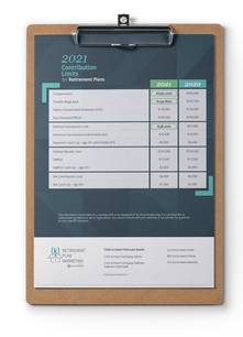 2021 Annual Contribution Limits