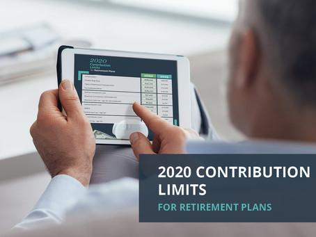 2020 Contribution Items