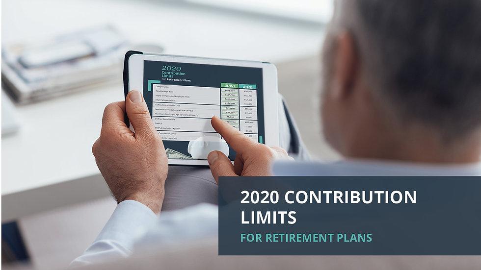 2020 Contribution Limits