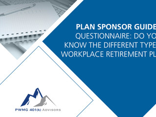 Questionnaire: Do You Know the Different Types of Workplace Retirement Plans?