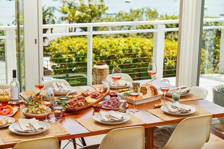 Xmas Banquet Food Photography
