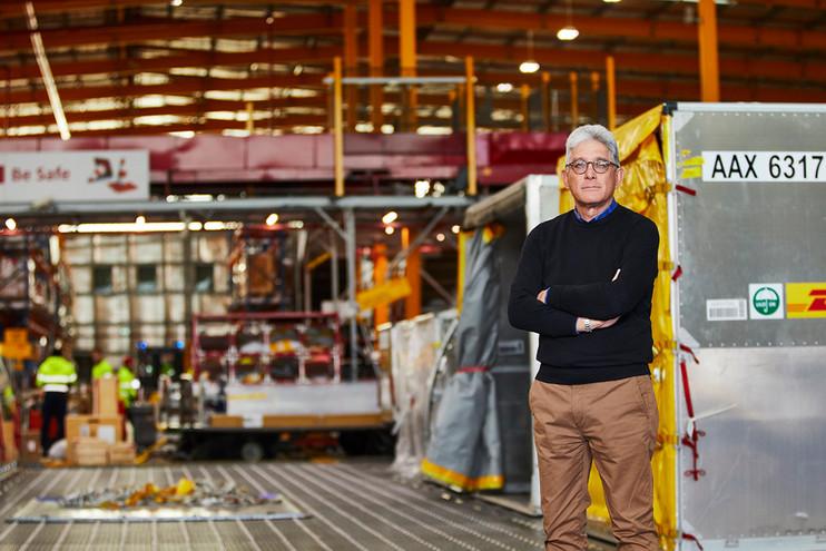 DHL CEO Gary Portrait