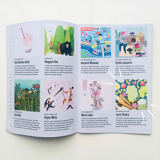 Illustrators for hire-illustration-zine-