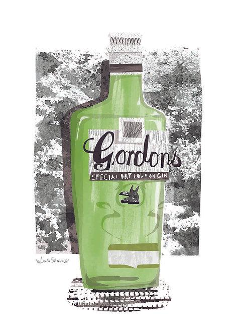 Gordon's Gin Print