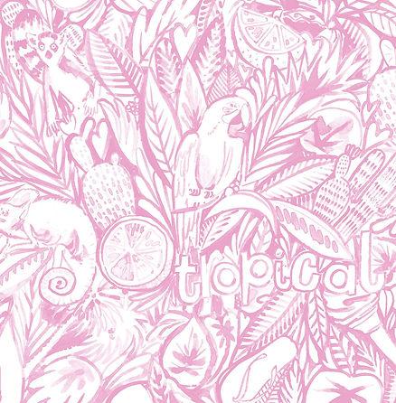 LAUS054-JUNGLE-TROPICAL-FLAT-pink-web.jp