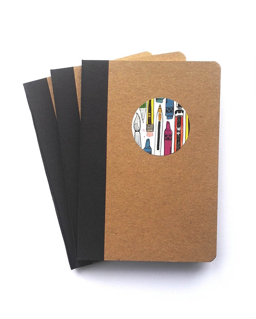 9x13cm Notepad set of 3