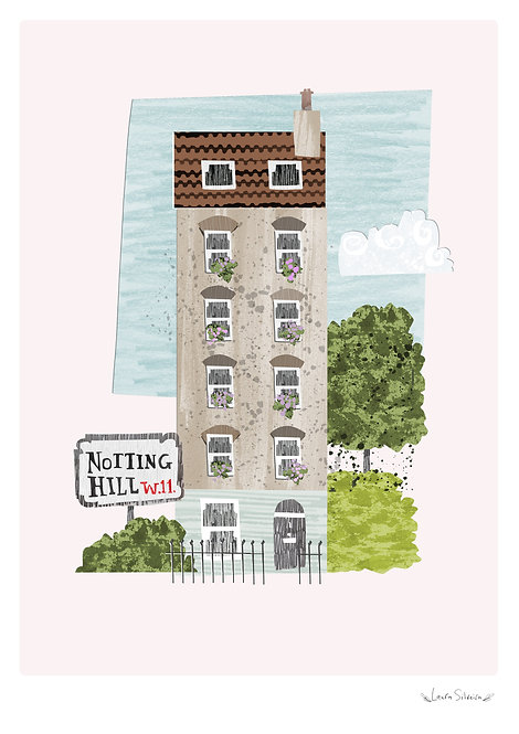 Notting Hill Print