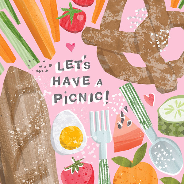 food-drink-commercial illustrator-picnic