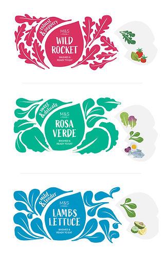 commercial food illustration M&S