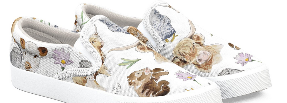 Happy Hens & Highlands Shoes