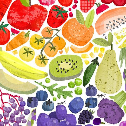 Food-illustration-rainbow-health-wellbei