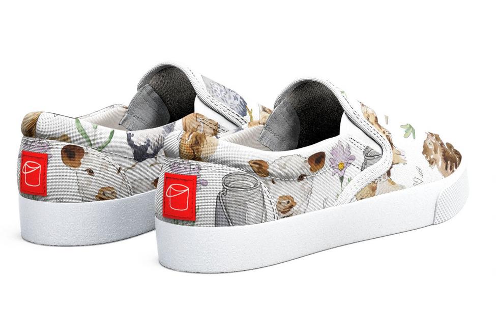 Happy Hens & Highland Shoe