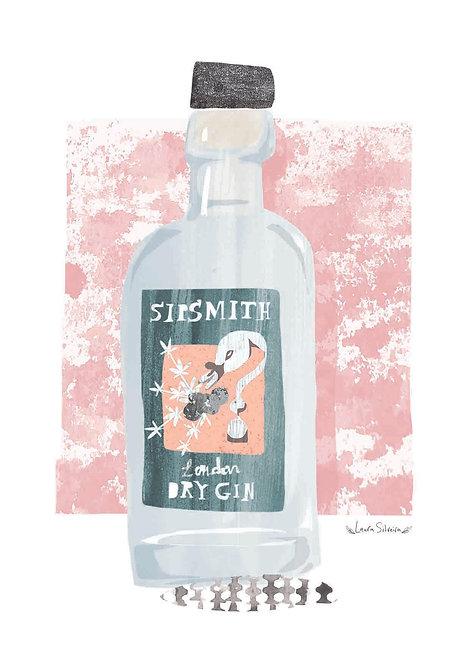Sipsmith Gin Print