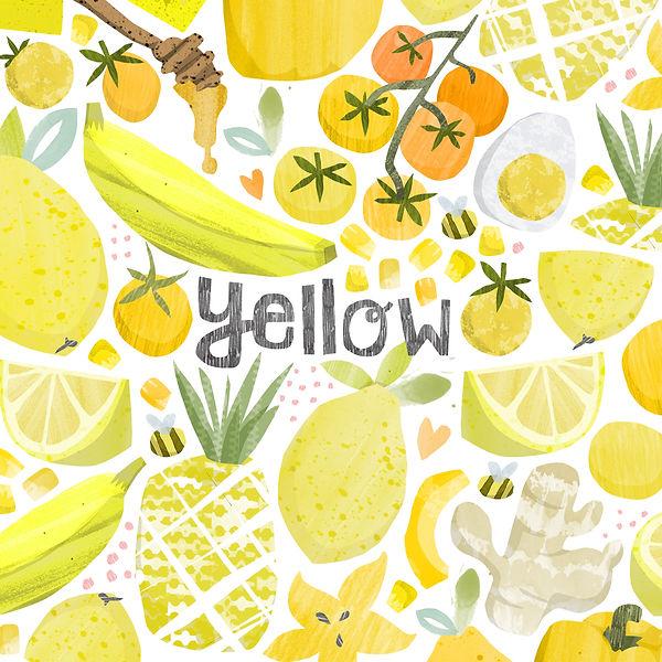 Food-illustration-yellow-wellbeing-magaz