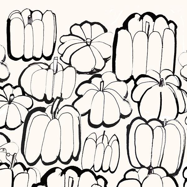 inky food illustration-pumpkins-fall-aut