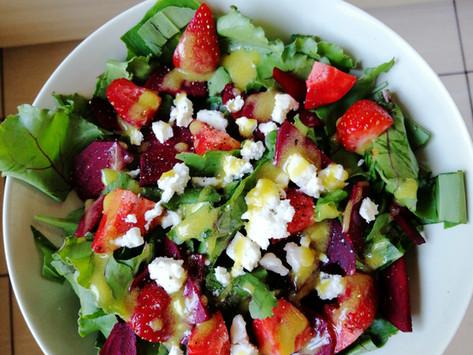 Pavasara salāti svaigumam