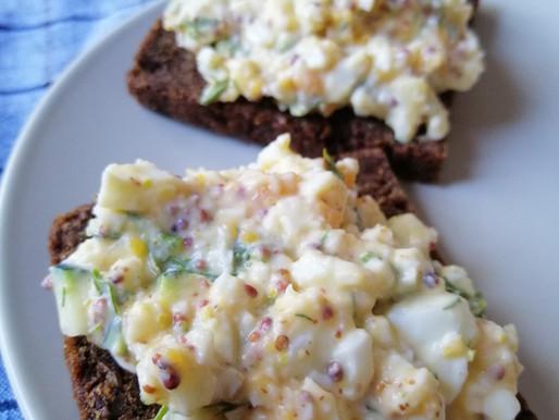 Vienkāršie olu salāti