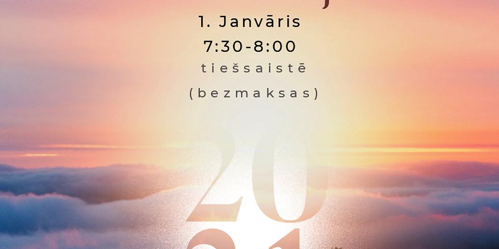 1. Janvāra rīta meditācija (bezmaksas)