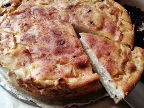 Ābolu - biezpiena kūka