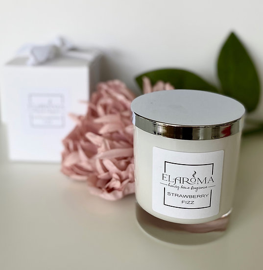 Strawberry Fizz Candle