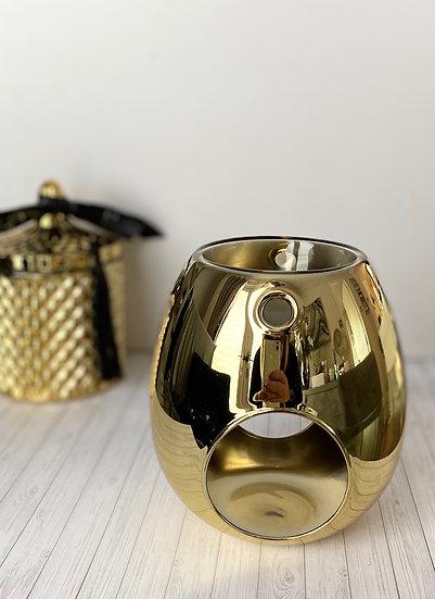 Gold Wax Melt Burner