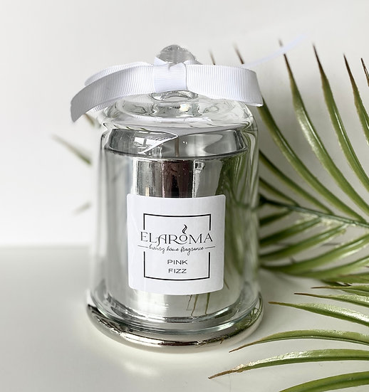 Pink Fizz LUXE Cloche Candle