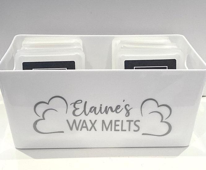 Personalised Wax Melt Storage Boxes
