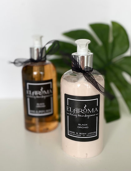 Black Orchid Luxury Hand and Body Wash /Lotion