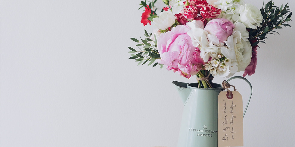 Floral Arrangements & Happy Hour