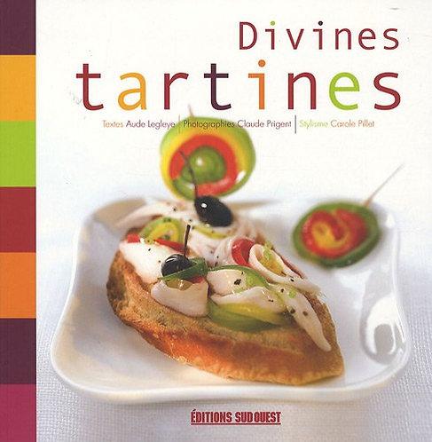 Divines tartines - Aude Legleye