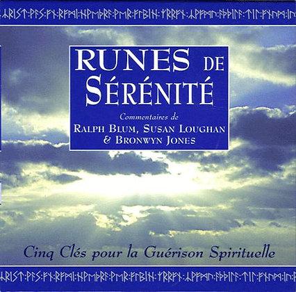 Runes De Sérénité Coffret - Cinq Clés Pour La Guérison Spirituelle Ralph Blum