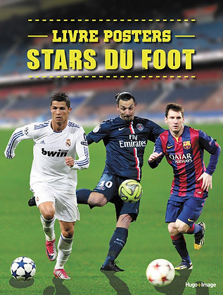 Livre Posters  - Stars Du Foot - Hugo Et Compagnie