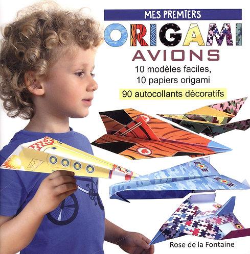 Mes Premiers Origami Avions - 10 Modèles D'avions Faciles À Réaliser, 10 Papiers