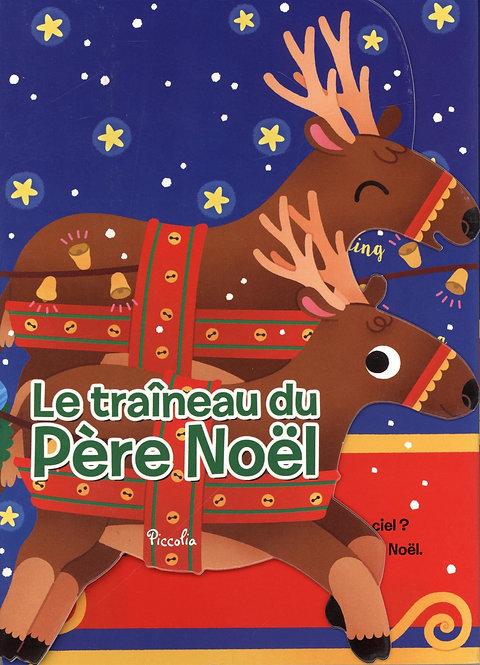 Le traîneau du Père Noël - Livre accordéon - Beatrice Costamagna