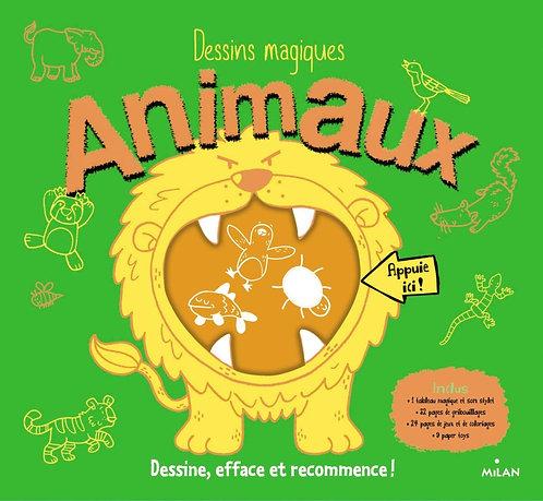 Livre de Dessins magiques - Les animaux - J. Mc Donalds
