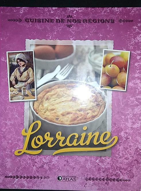 Livre-cuisine-et-vins-Cuisine-de-nos-régions-Lorraine