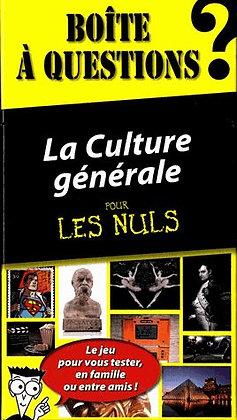 La Culture Générale Pour Les Nuls - Boite À Questions