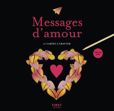 Cartes à gratter - Messages D'amour - Avec 1 Bâtonnet - Magano Lisa - Ed First