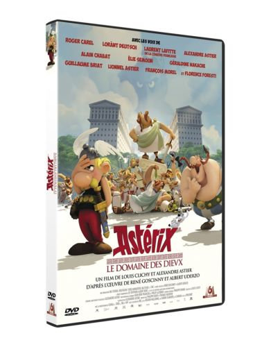 ASTERIX Le Domaine des Dieux   - Louis Clichy  - M6 video - DVD d'occasion