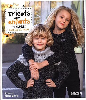 Tricots pour enfants : 25 modèles pour les 2 à 16 ans. Emilie Roufiat
