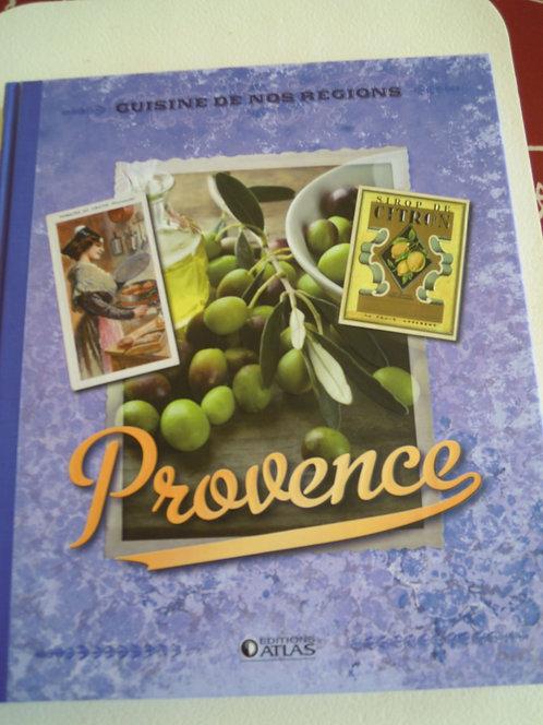 Livre cuisine et vins - Cuisine de nos régions - Provence
