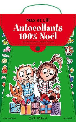 Pochette De Stickers Noël Max Et Lili - Calligram
