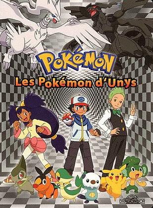 Pokémon - Les Pokémon D'unys - Livre - Puzzle