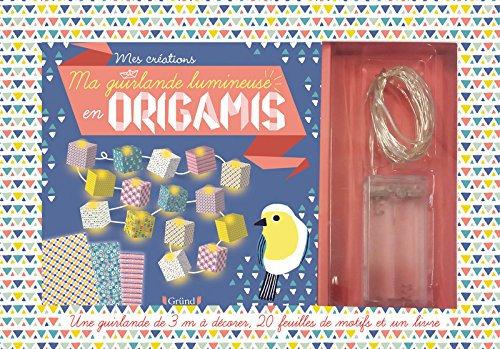 Ma guirlande lumineuse en origamis - Coffret -  Emilie LAPEYRE