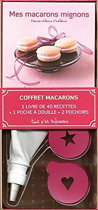 Coffret Tout P'tit Toquades - Mes macarons mignons - Marie-Claire Frédéric
